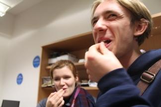 John Eating Pollen